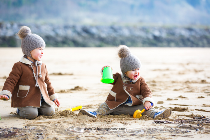 Fotografia infantil: Oihan & Gael